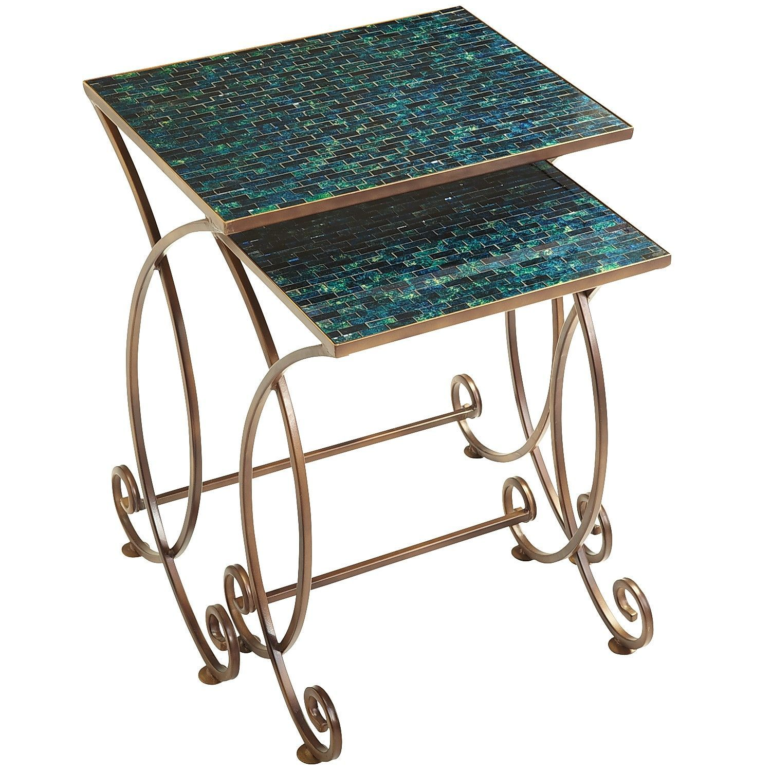 Cerulean Nesting Tables Pier 1 Imports Nesting Tables Decor