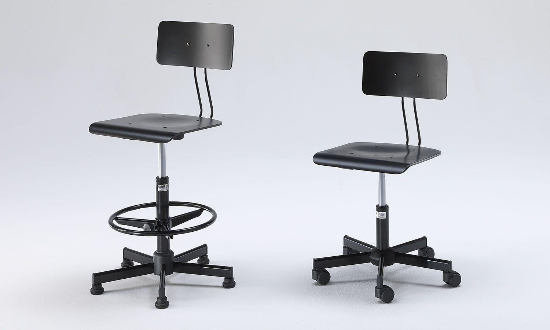 Sgabelli disegnatore laboratorio sedie scuola emme italia