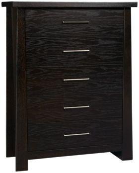 Ligna Furniture Zen Ligna Furniture Zen 5 Drawer Chest   Jordanu0027s Furniture