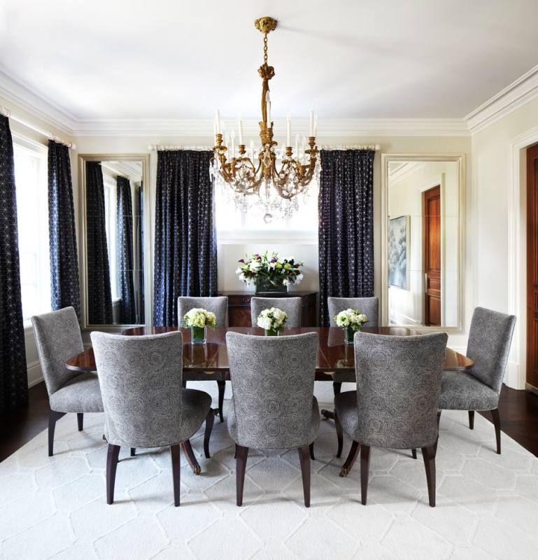 Elegant Living Room Curtains Designs Ideas Elegant Dining Room With White Sheer Curtain Plus Elegant Dining Room Elegant Living Room Dining Room Chandelier