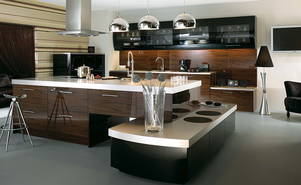 44 Ways That Modern Kitchen Cabinets Can Rock The Room