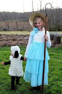 sgrbear724's Bo Peep's Lost Sheep Costume #sheepcostume