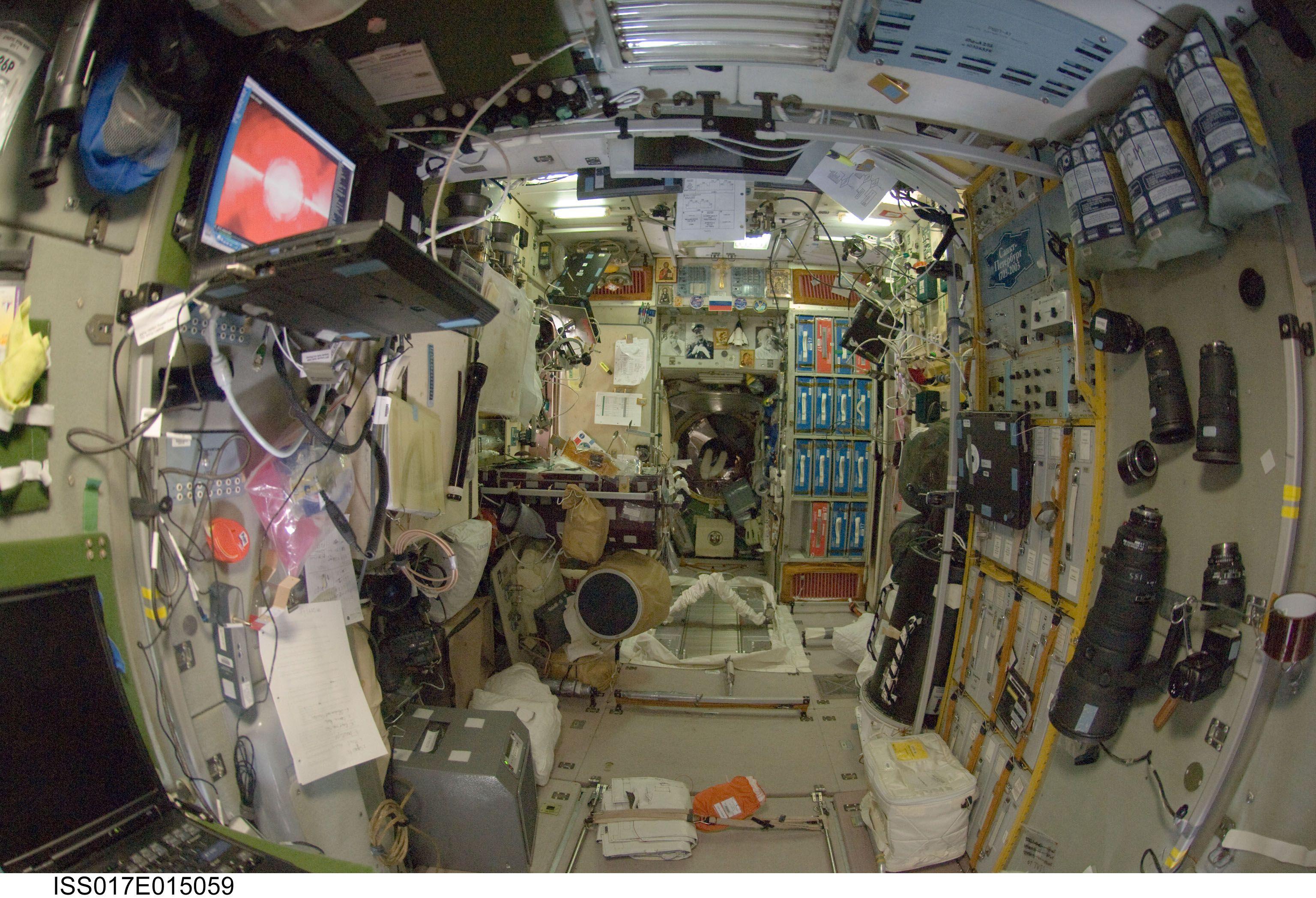 inside space station model - photo #27