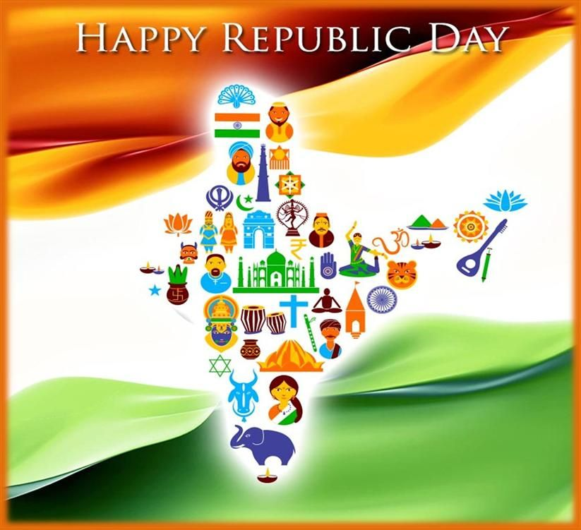 Image result for Images to depict Republic Day thoughts.