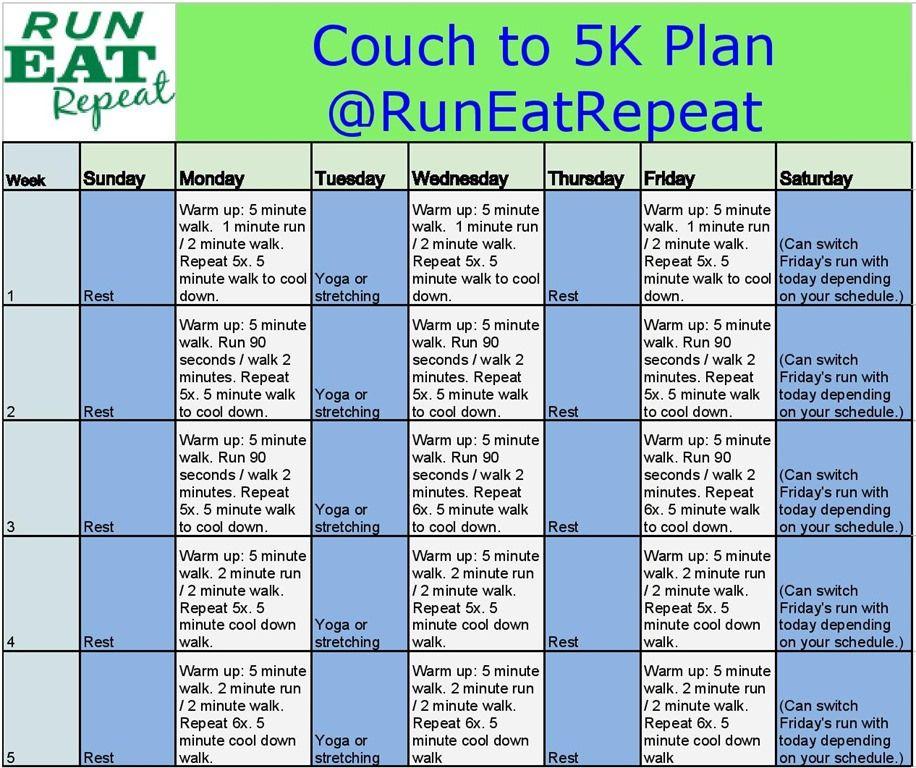 Run A 5k Training Plan For New Runners 5k Training Plan Couch To 5k Plan Training Plan