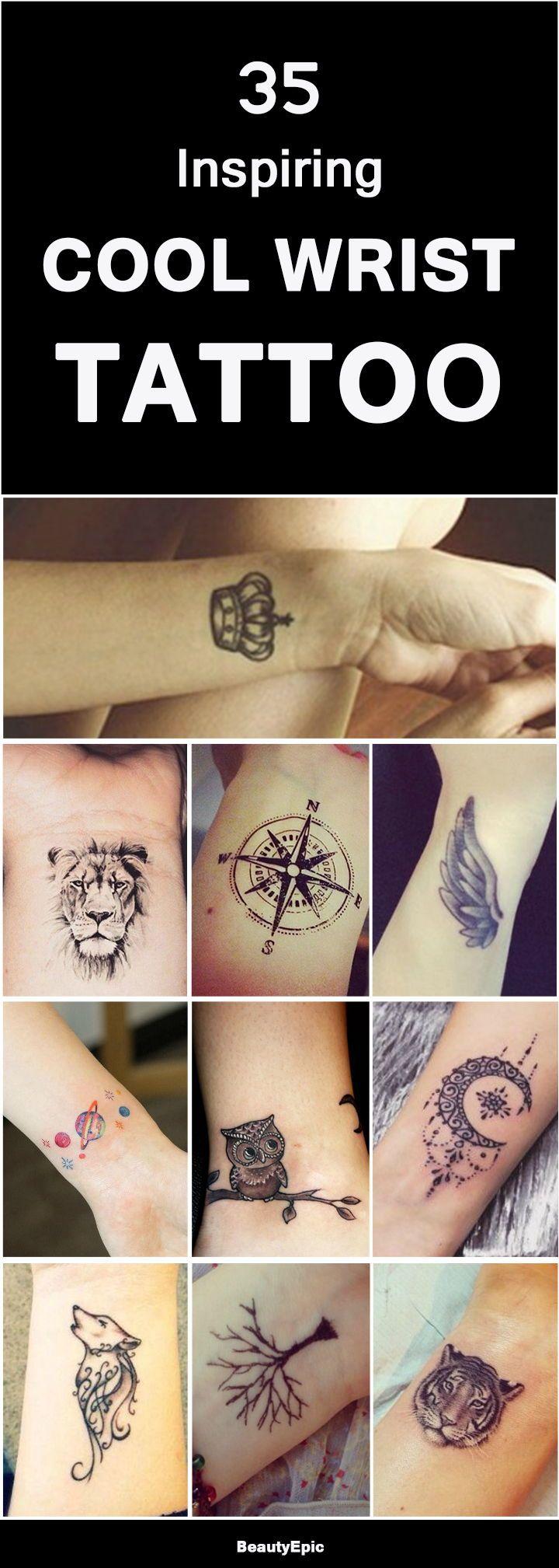 35 Inspiring Cool Wrist Tattoos For Men Women To Get Now Cool Wrist Tattoos Wrist Tattoos For Guys Tattoos For Guys