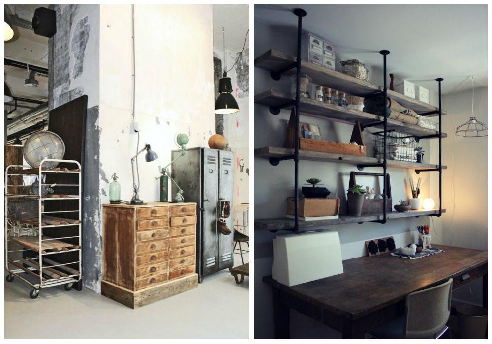 Muebles Tipo Industrial Rack Tv Mueble Para Tv Estilo