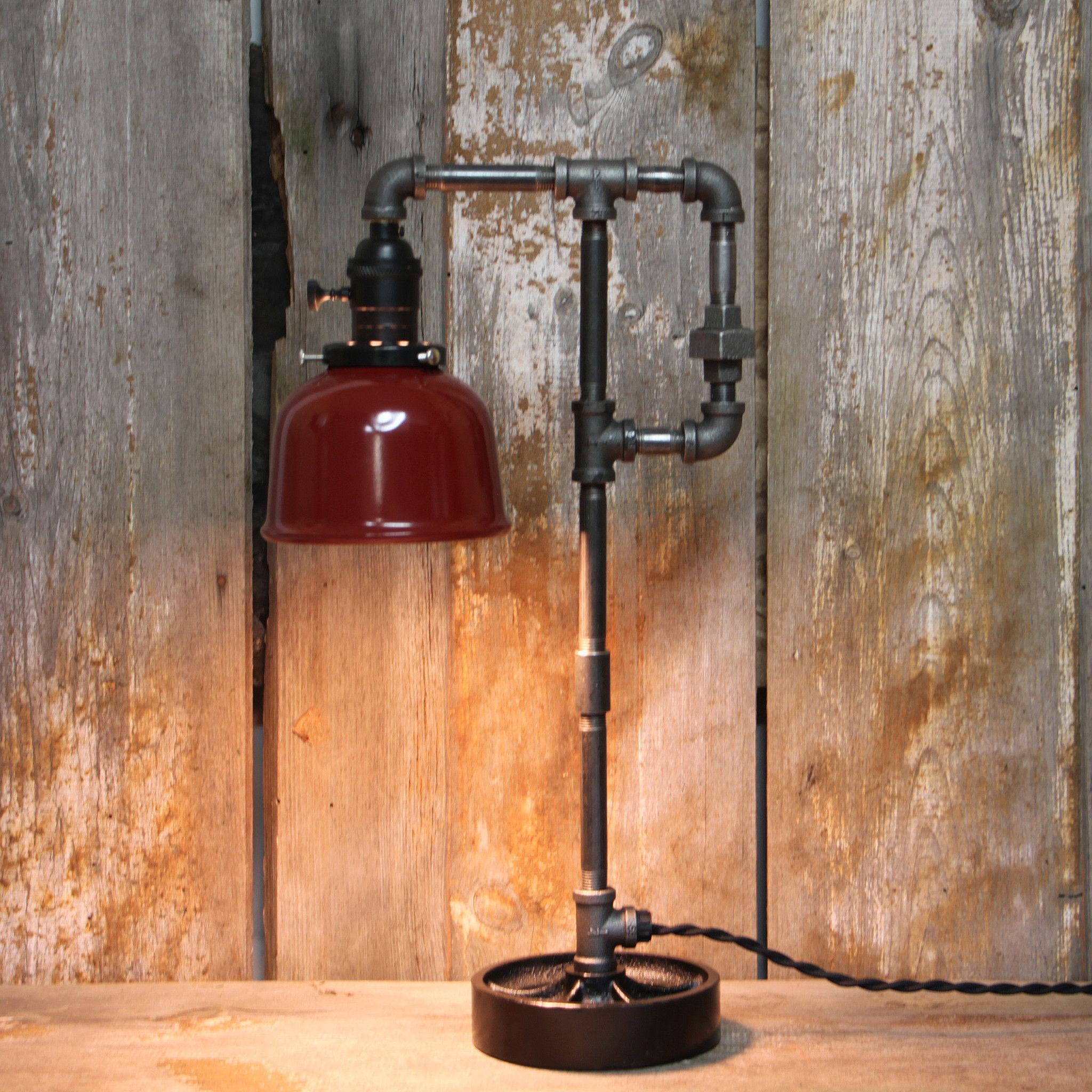 industrial table lamp with style 42