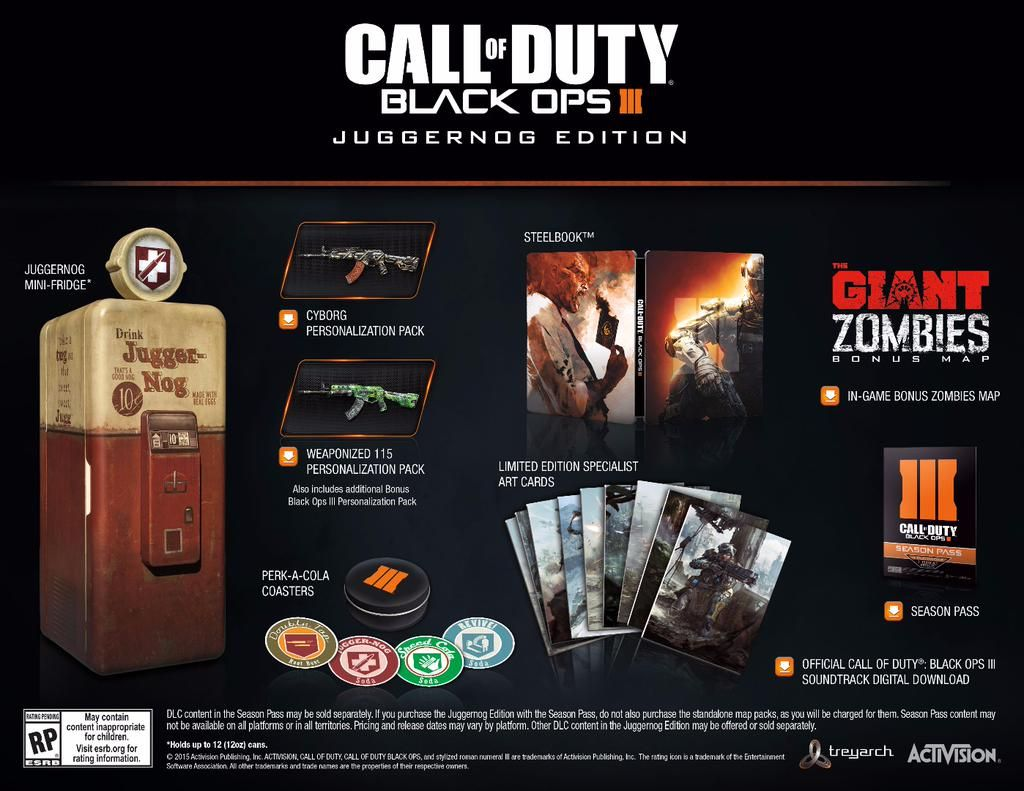 Black Ops 3 juggernog edition!