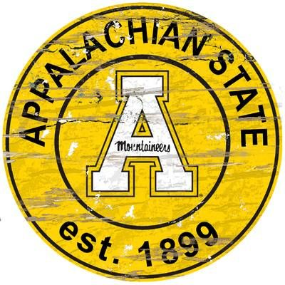 NCAA Graphic Art Print on Wood (With images) Appalachian