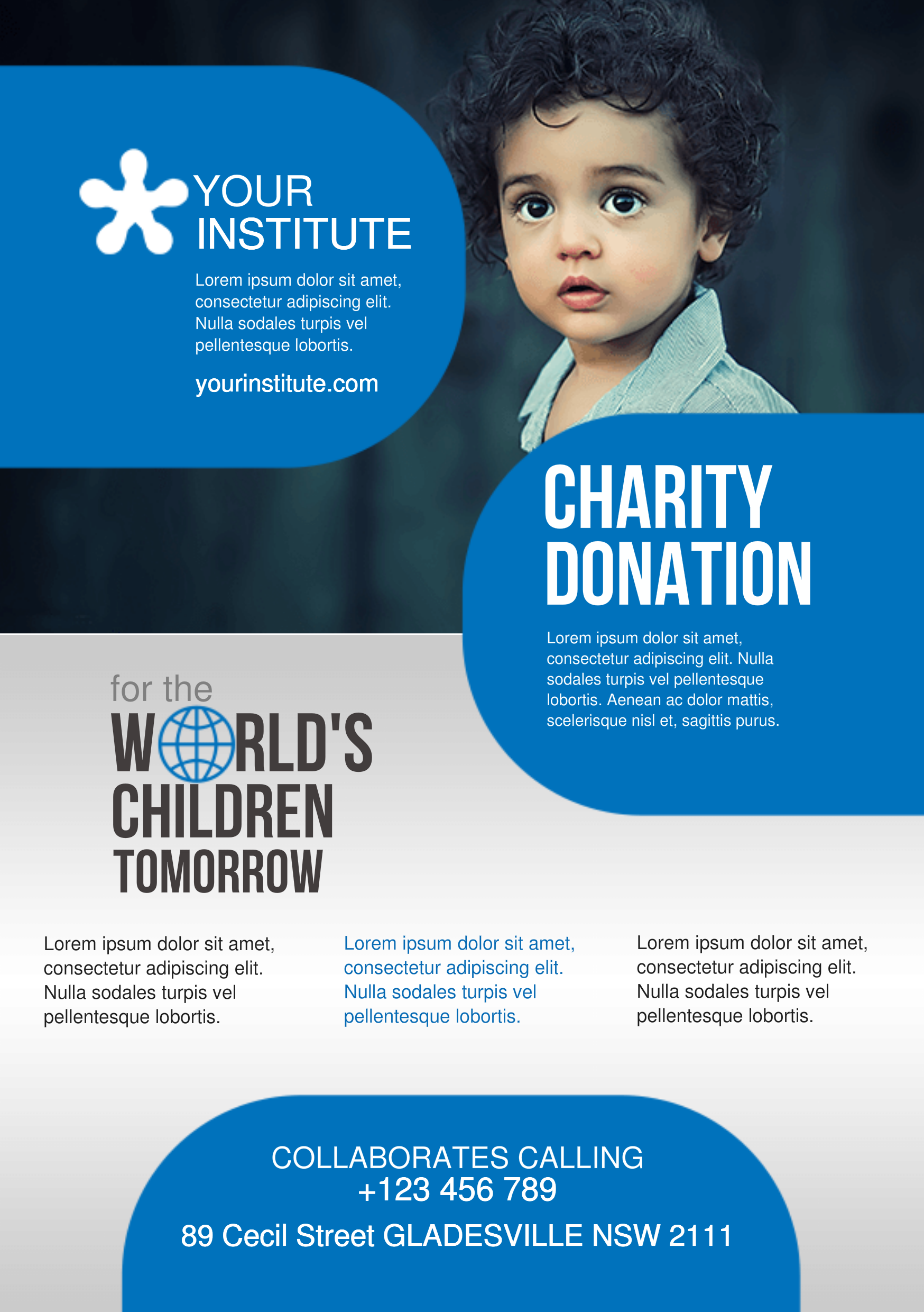 Charity A Promotional Flyer HttpPremadevideosComAFlyer