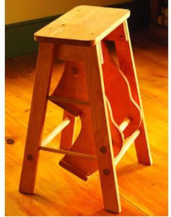 Home Hardware Fold Up Pine Stepping Stool Project For