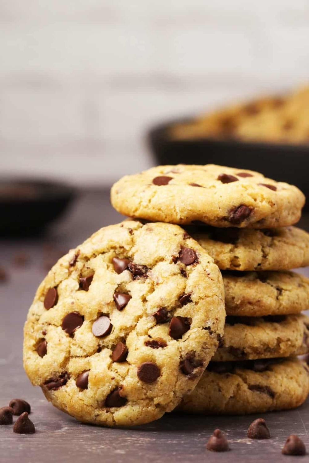 These Vegan Gluten Free Chocolate Chip Cookies Are So Good No One Will Ever Guess T Gluten Free Chocolate Chip Cookies Gluten Free Chocolate Chip Vegan Cookies