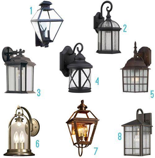 large garage lighting ideas | Exterior lighting | Exterior light fixtures, Garage ...
