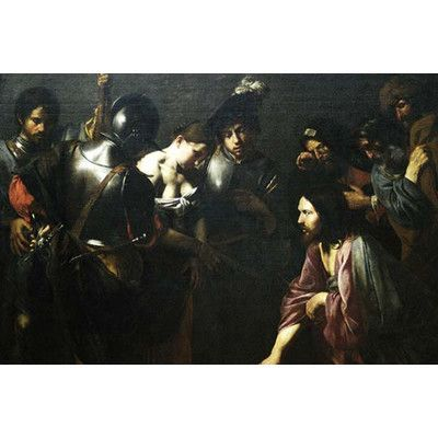 Buyenlarge Christ And The Adulteress By Valentin Boulogne Painting