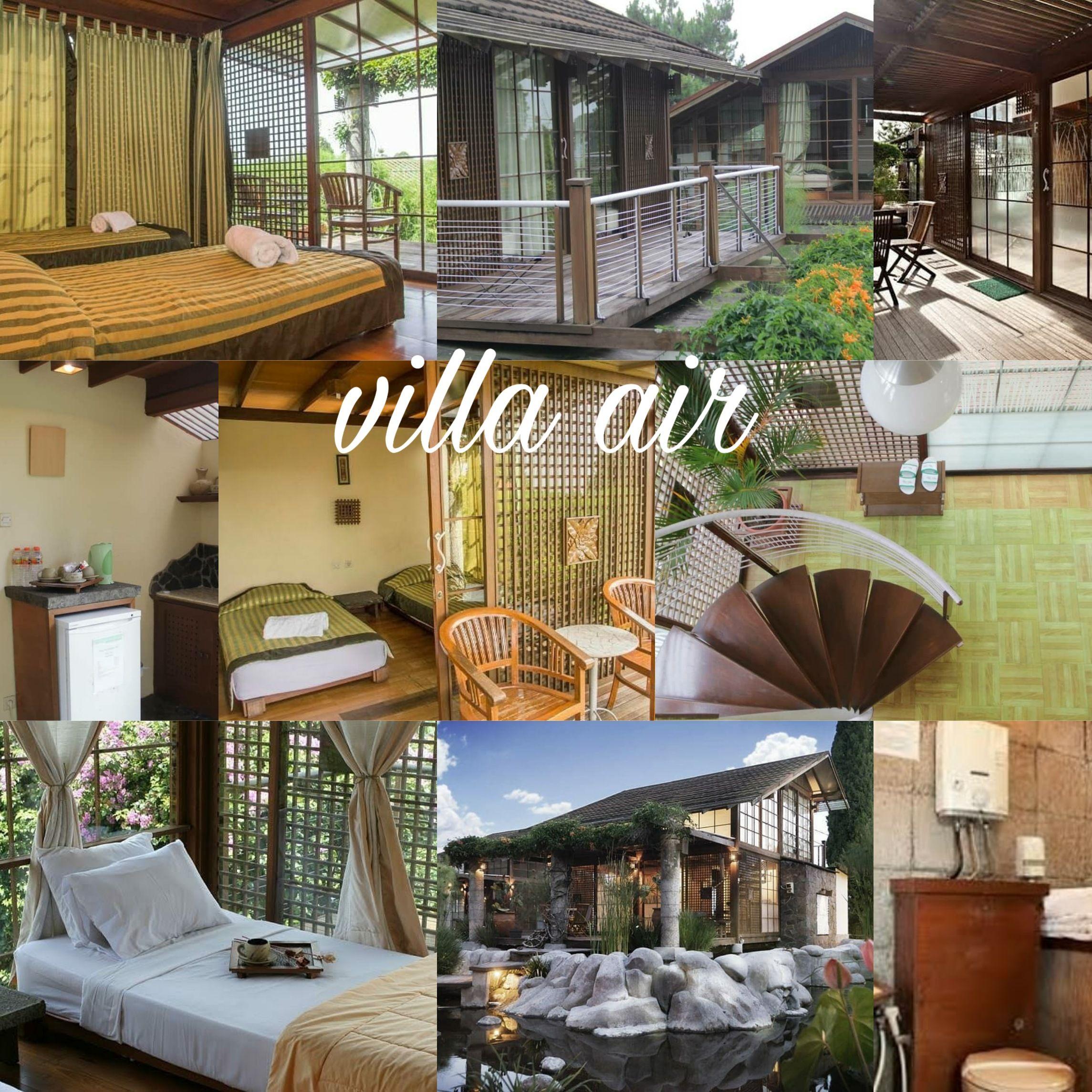 Villa Air Lembang Penginapan Vila Villa