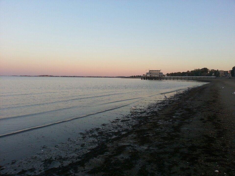 Quincy Shore - Boston Skyline to the left