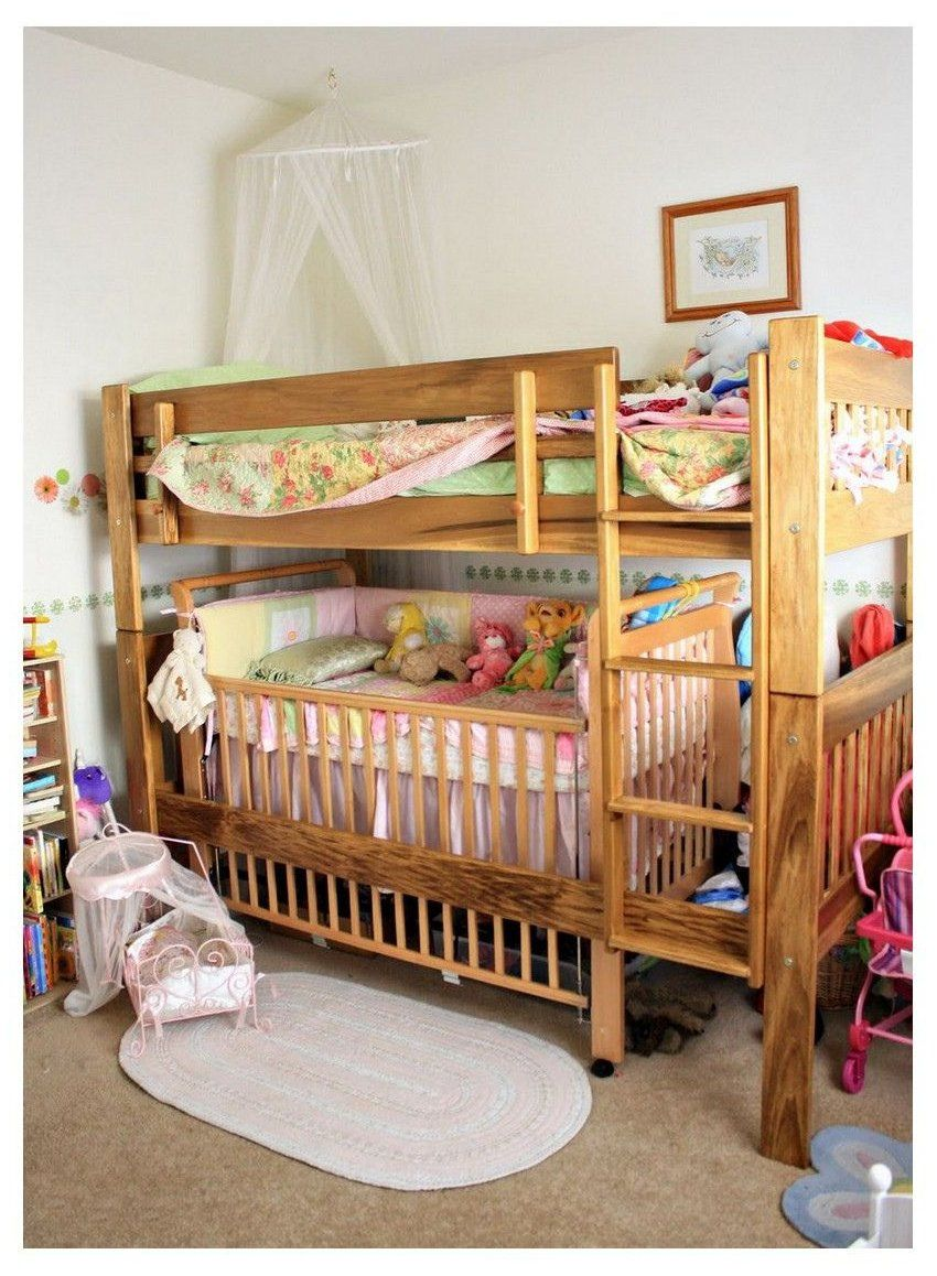 Loft Bed With Crib Underneath Toddler Loft Beds Bunk Bed Designs Bunk Bed Crib