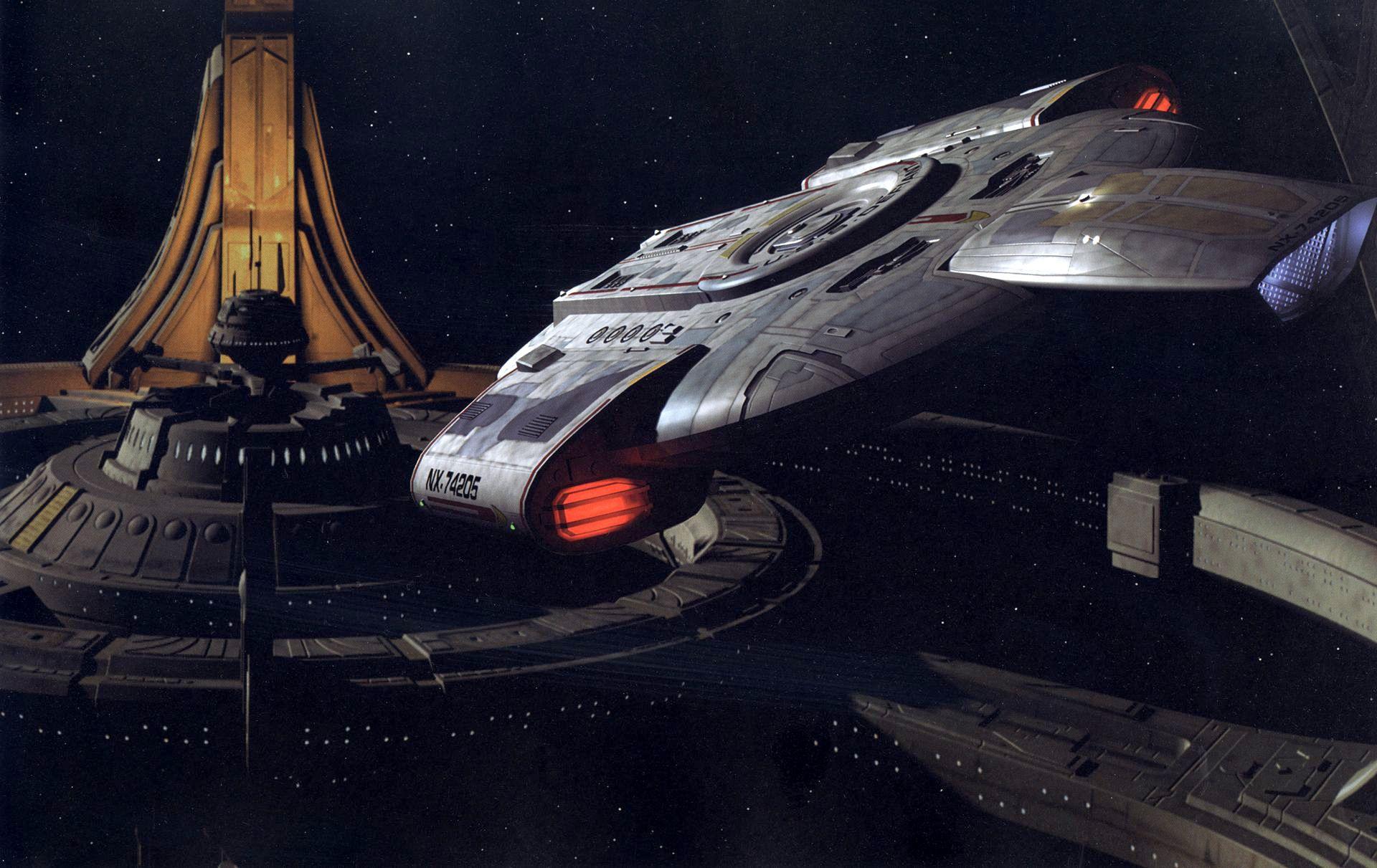Deep Sapce Nine and the USS Defiant