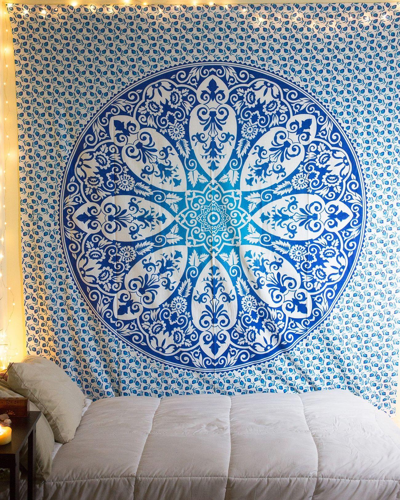 Blue Boho Tapestry From Thebohemianshop.com