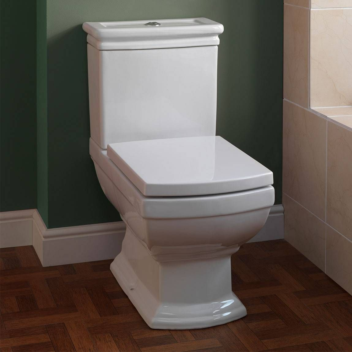 Milton Close Coupled Toilet Inc Seat Now Only 129 99 From