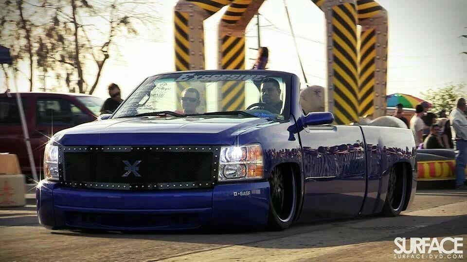 Chevy roadster.. Dropped trucks, Mini trucks, Custom
