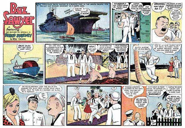 Buz Sawyer Wikipedia The Free Encyclopedia Old Comics Comic Strips A Comics