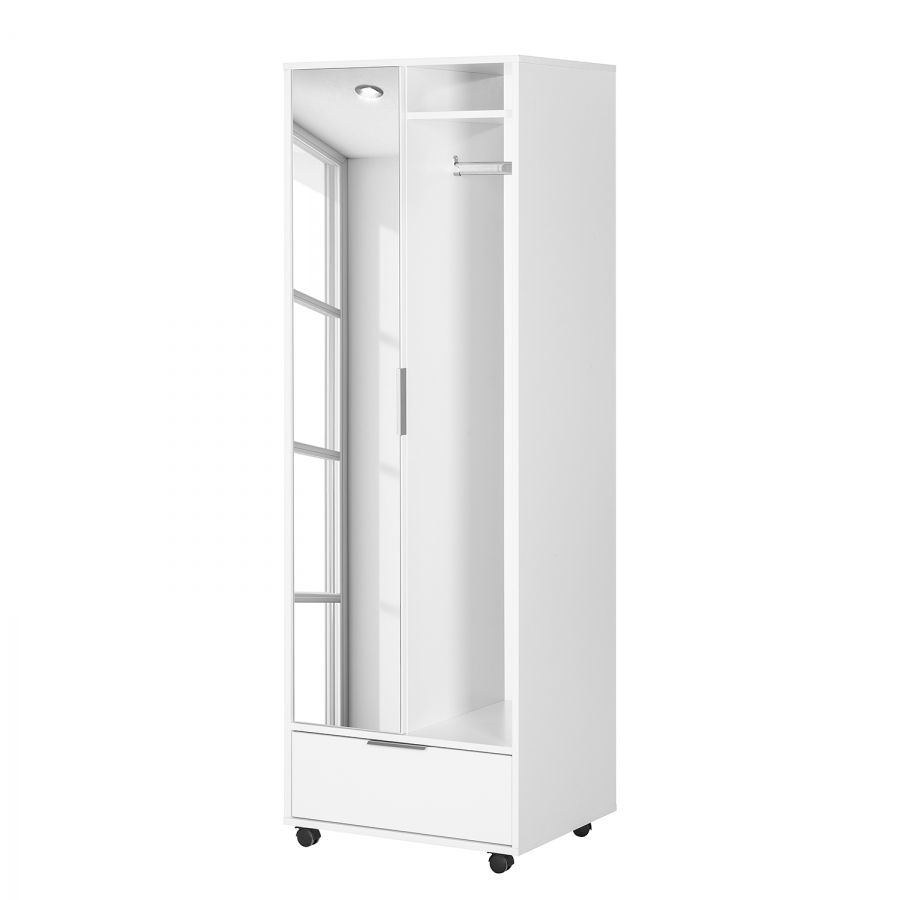 Mobile Rollgarderobe Kiydoo Smart In Weiss Bequem Online Bestellen
