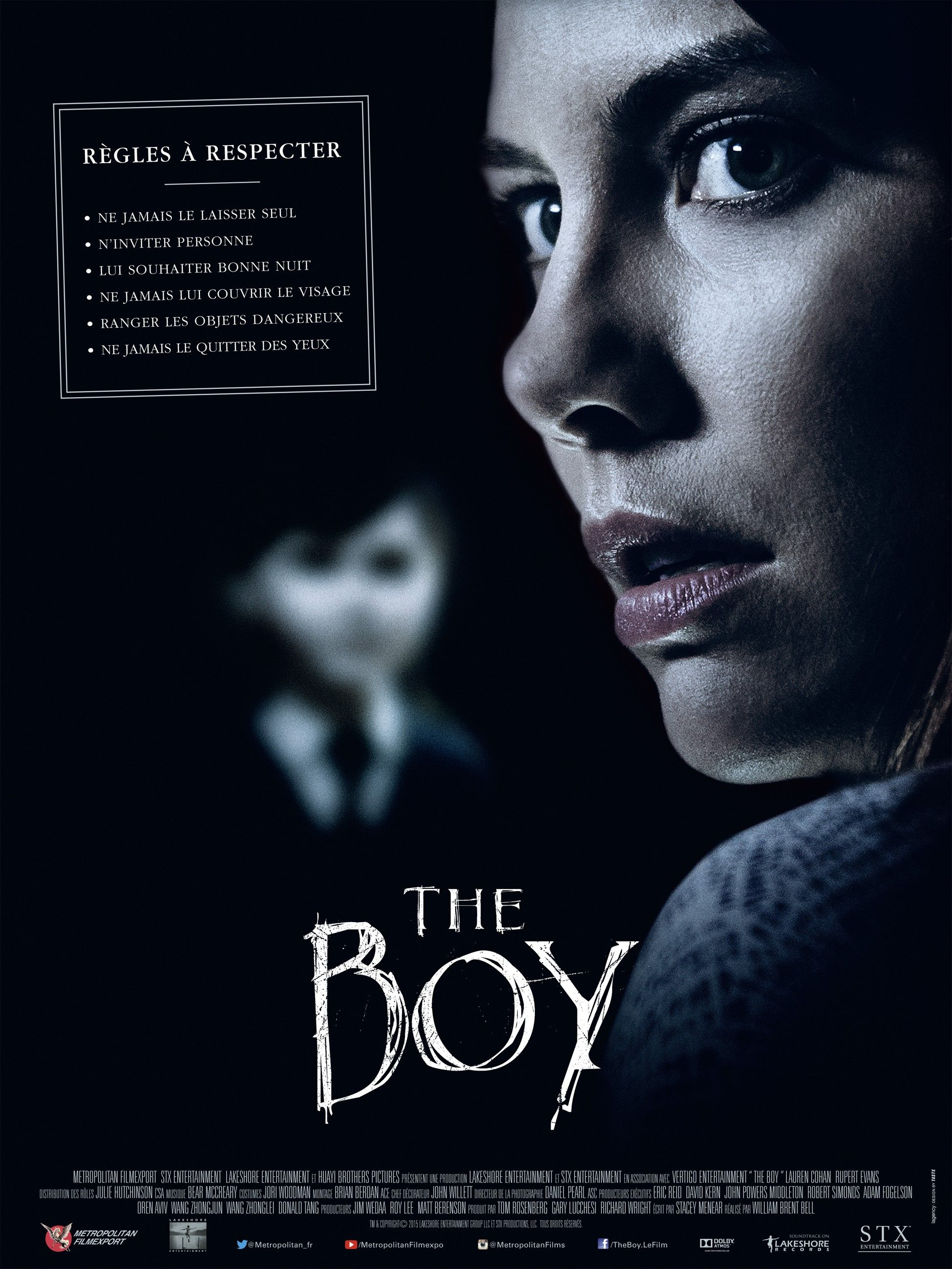 the boy movie poster 2016 scary and fun movies