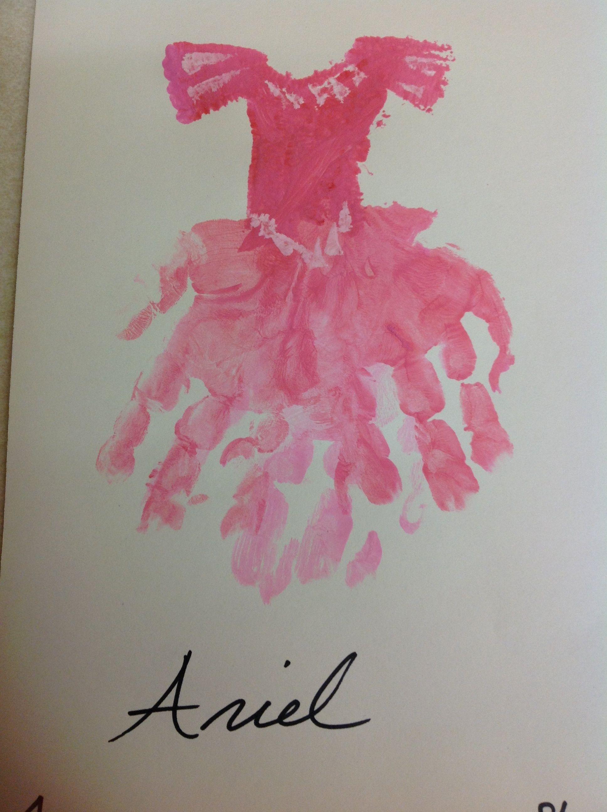 Princess Castle Handprint English Us Handprints