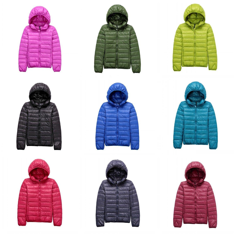 Uniqlo S Style Women S Puffer Down Hoodie Jacket Ultralight Outdoor Packable Chaquetas [ 1500 x 1500 Pixel ]