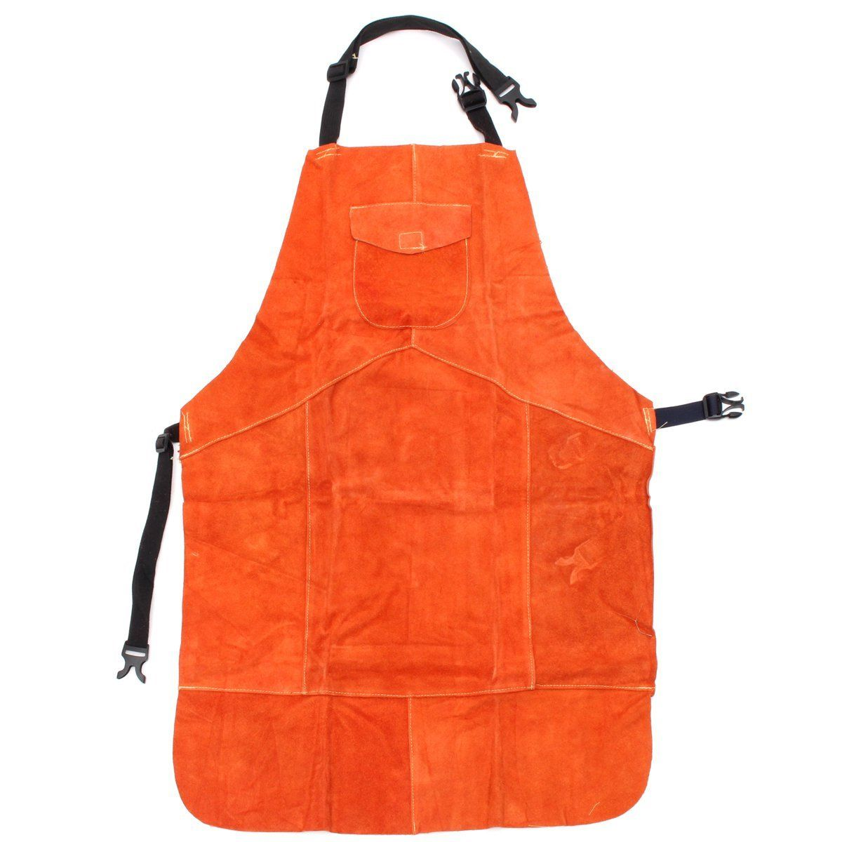 NEW Safurance Cowhide Leather Welding Protective Apron Heat Resistant Soldering Mechanic Smock Workplace Safety