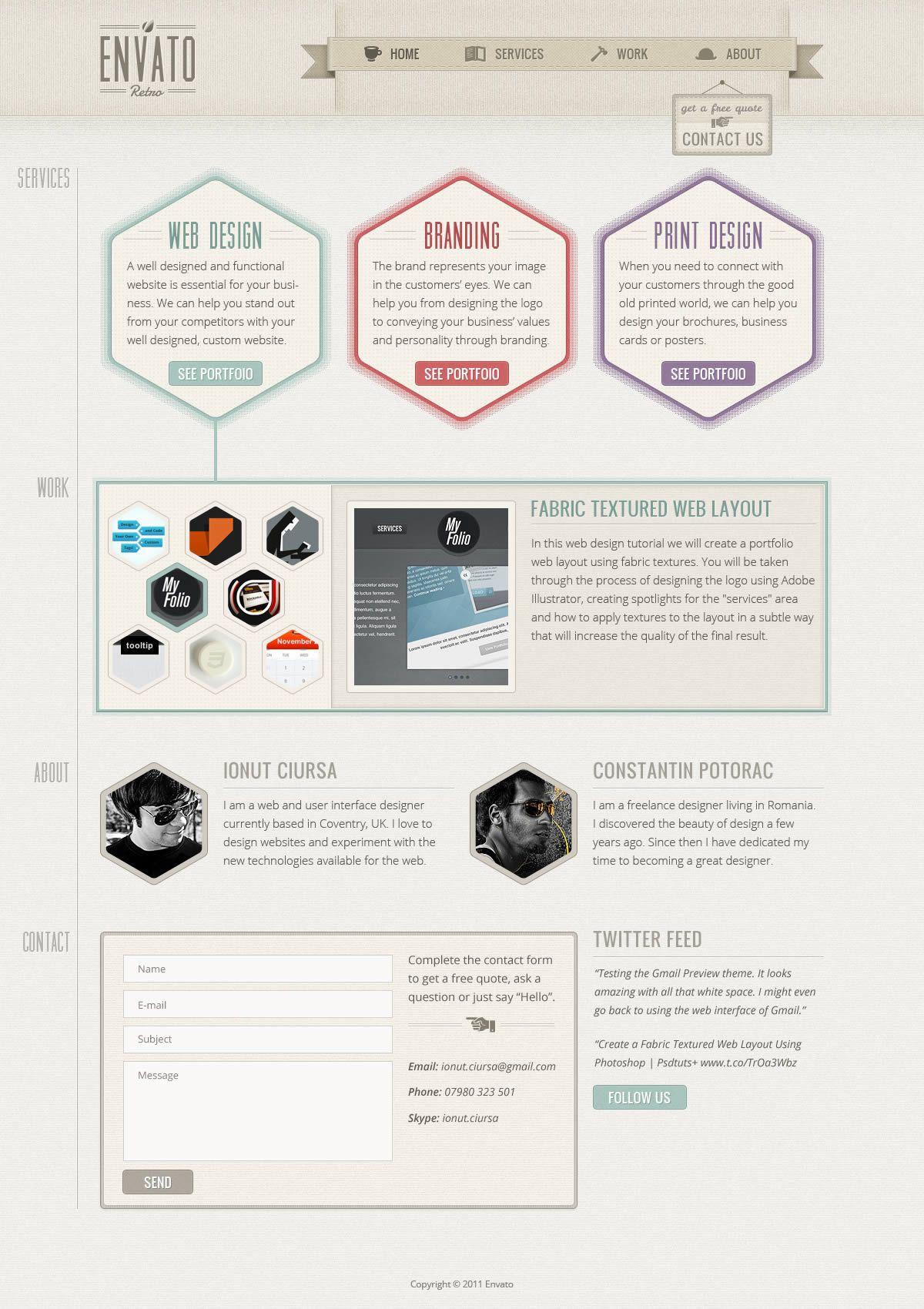 48 excellent tutorials for designing websites in photoshop | web.
