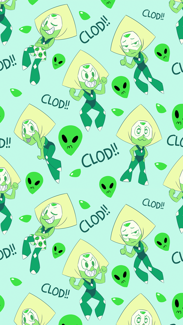 Awww This Is To Cute Would Make A Cute Wallpaper Steven Universe Wallpaper Peridot Steven Universe Steven Universe