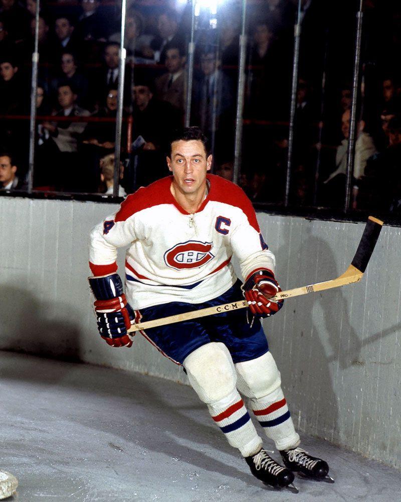 Jean Beliveau Montreal Canadiens Stanley Cup Celebration 8x10 Photo