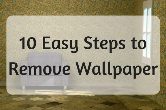 How to Remove a Wallpaper Border | Removable wallpaper ...
