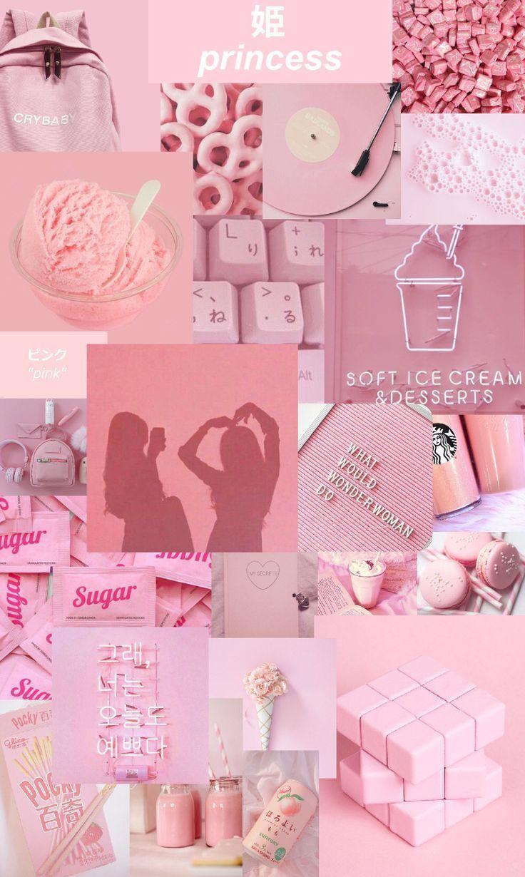 Pink Aesthetic Wallpaper Aesthetic Pink Wallpaper Pink Wallpaper Iphone Cute Flower Wallpapers Aesthetic Iphone Wallpaper