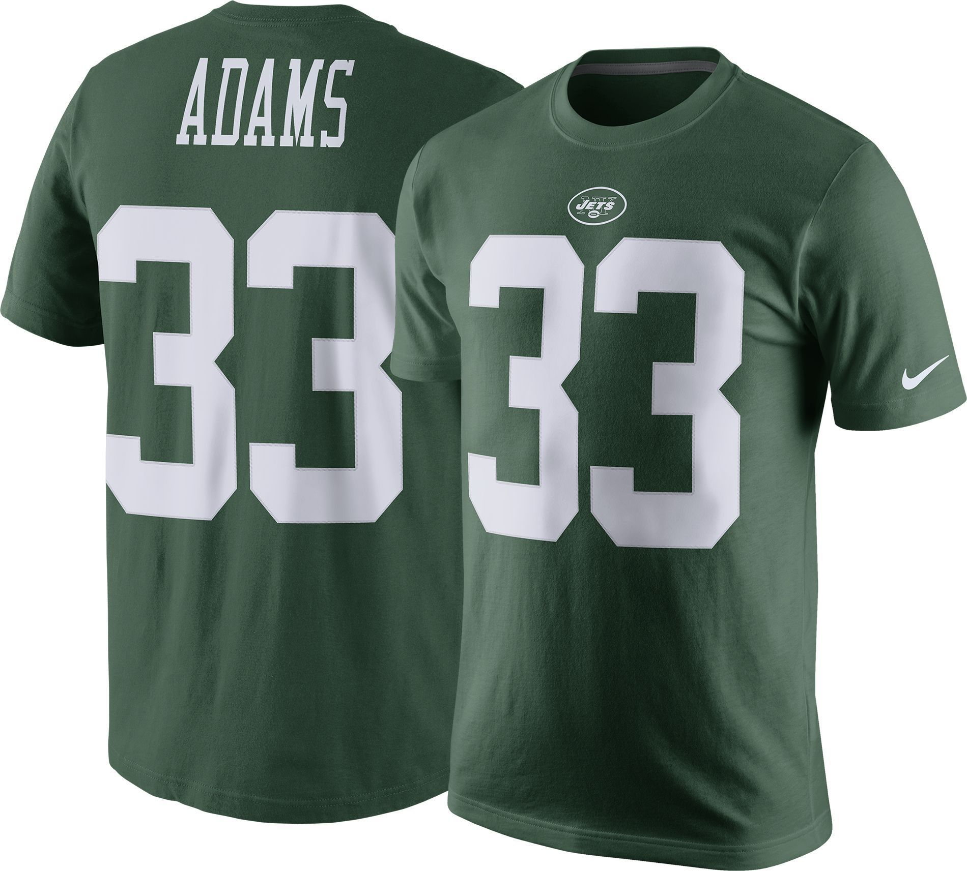 f764ce6ac Nike Men s New York Jamal Adams  33 Pride Green T-Shirt
