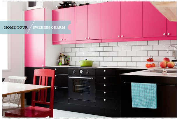 1000+ images about Kitchen black and pink on Pinterest   Circles ...