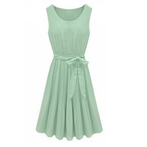 Kleid mintgrun