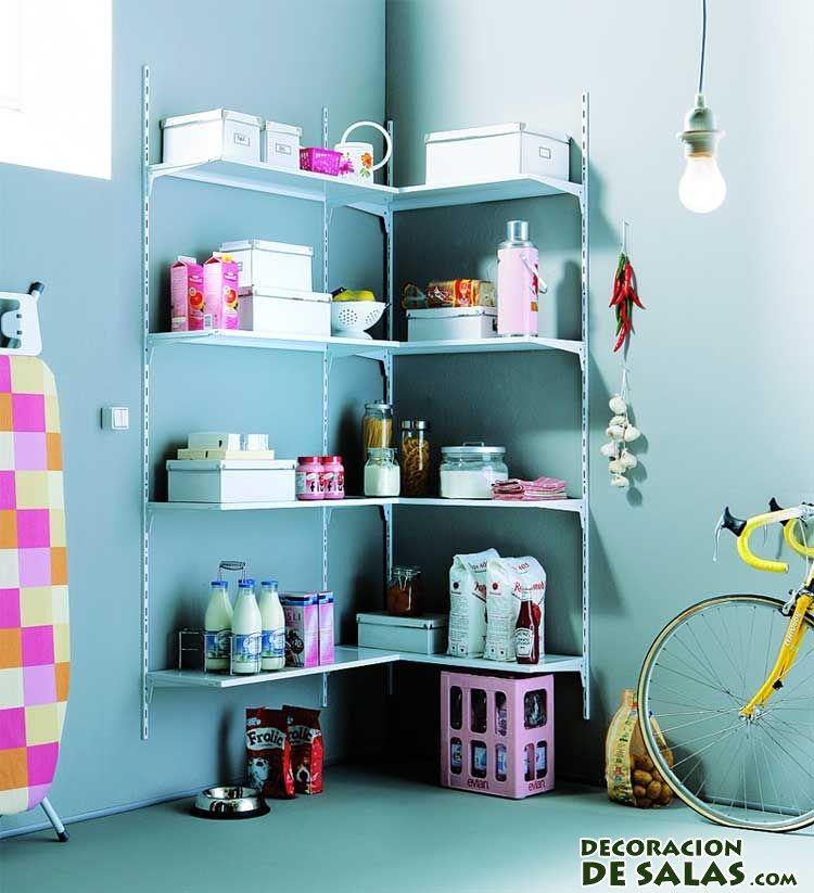 Ideas para organizar trasteros espacios peque os for Organizar espacios pequenos
