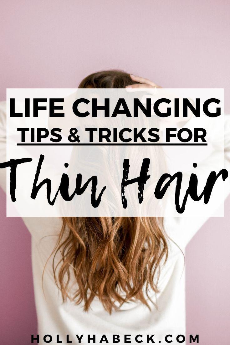 Hairstyles for Thin Hair — Messy Bun Tutorial -   17 easy hair Tips ideas