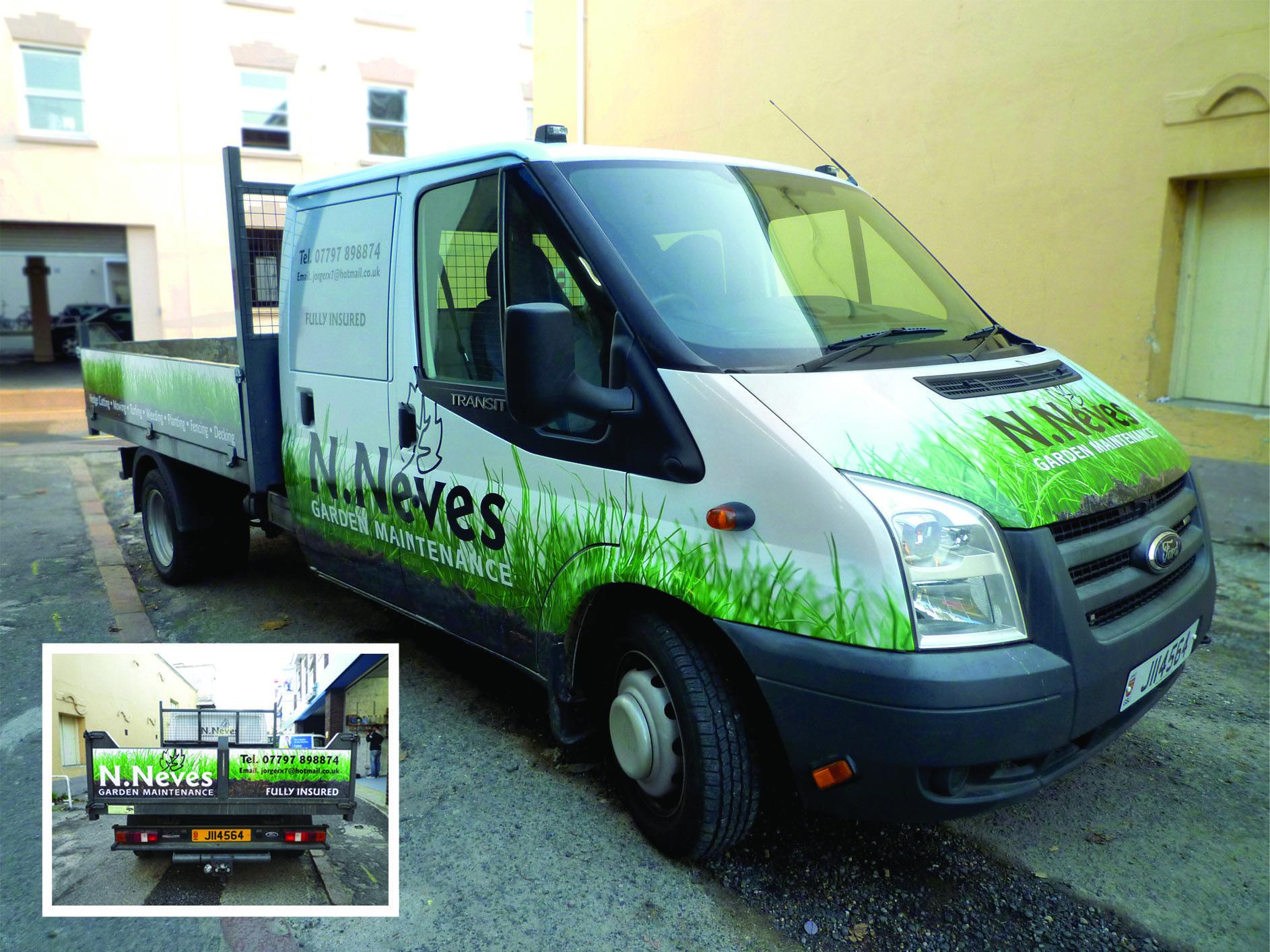 Ford Tipper Cab Van Wrap Van Wrap Car Wrap Van