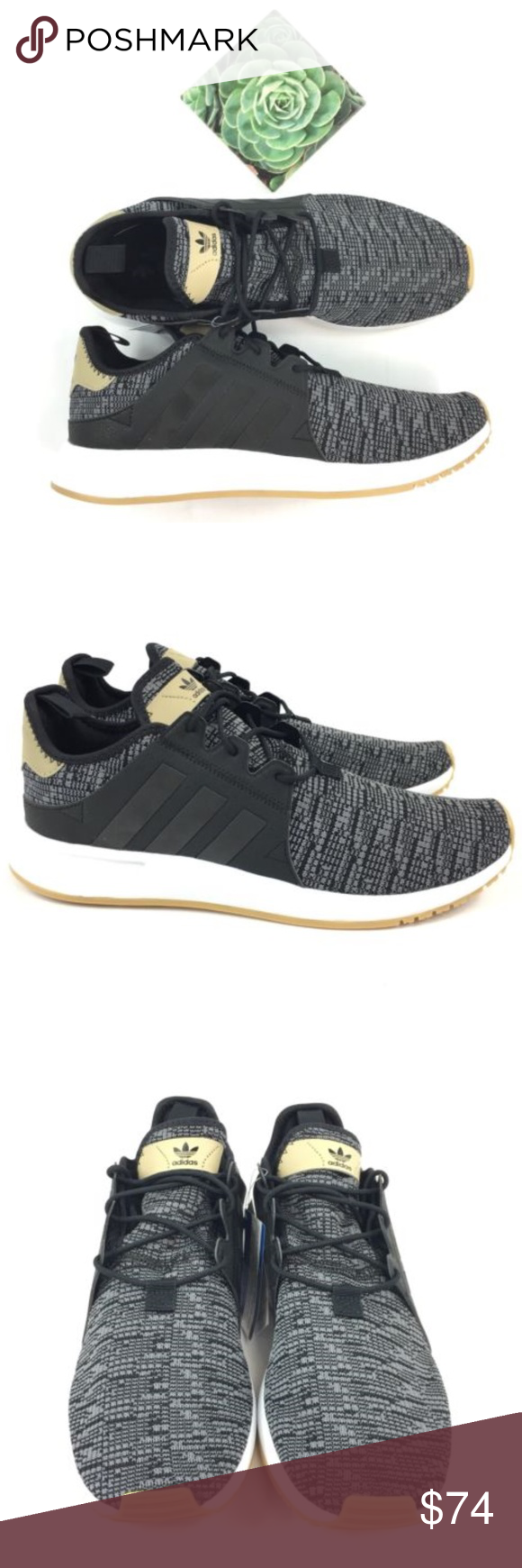 094eff2955d Adidas Originals X PLR AH2360 Men s Sneakers NWT Adidas Originals X PLR AH2360  Men s Sneakers Size 9.5 Orrtholite Black Gum Authentic - Bought at Adidas  ...