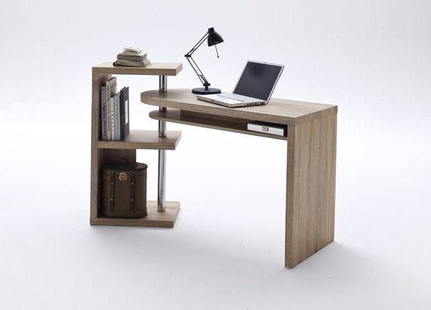 Schreibtisch Kombination Richard I Mit Regal Eiche S Auml Gerau