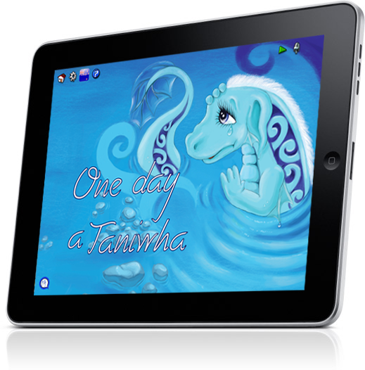 In this book a Taniwha befriends a little boy and invites