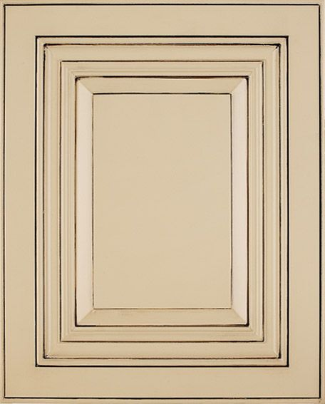 Butter cream glazed kitchen cabinets click here to view for Butter cream colored kitchen cabinets
