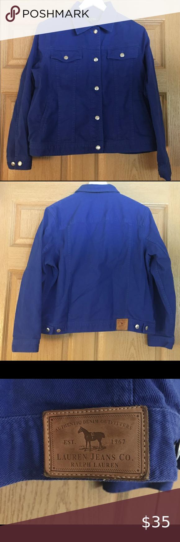 Ralph Lauren Blue Jean Jacket Blue Jean Jacket Royal Blue Jeans Clothes Design [ 1740 x 580 Pixel ]