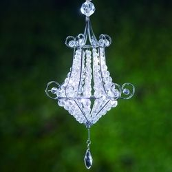 Mini Battery Powered Chandelier Perfect For A Romantic