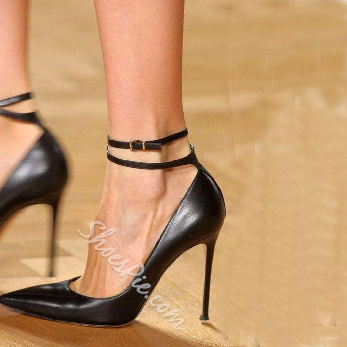 105d8cc54c4 Mature Ankle Wrap Stiletto Heels | Fashion | Red stiletto heels ...